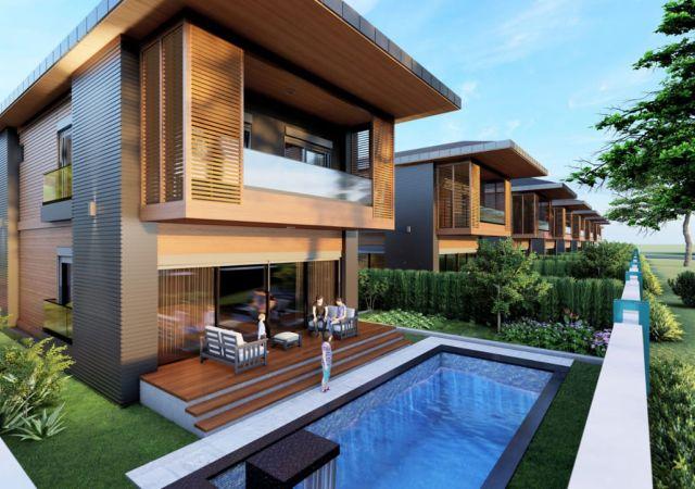 Villas for sale in Antalya - Turkey - Complex DN066 || damasturk Real Estate  01