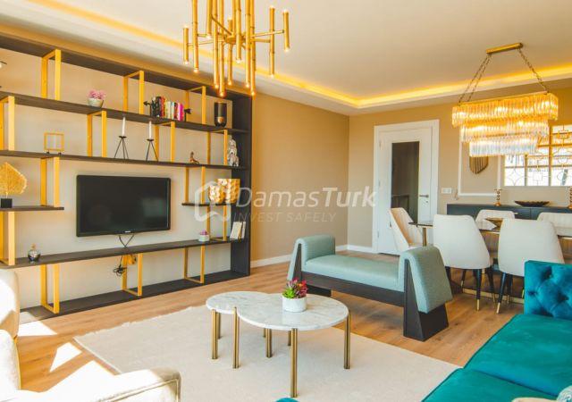 مجمع شقق استثماري جاهز للسكن بإطلالة بحرية رائعة في اسطنبول الأوروبية منطقة بيوك شكمجة DS283  || داماس تورك العقارية 04
