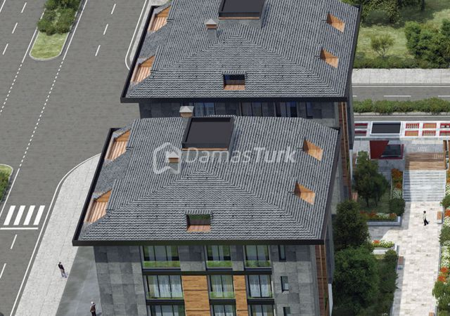 مجمع شقق ومحلات تجارية جاهز للسكن في اسطنبول الأوروبية منطقة بيليك دوزو DS284  || شركة داماس تورك العقارية 03