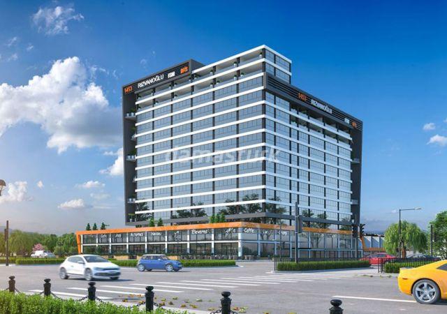 Offices for sale in Turkey - Bursa - the complex DB033 || damasturk Real Estate Company 02