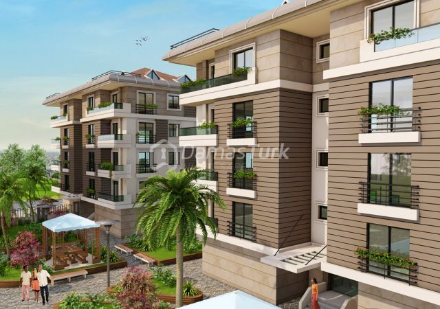 مجمع شقق استثماري  جاهز للسكن مع إطلالة بحرية  في اسطنبول الأوروبية منطقة بيوك شكمجة . DS279 || داماس تورك العقارية 02