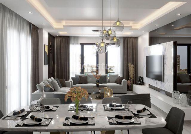 مجمع شقق فاخر جاهز للسكن في اسطنبول الأوروبية منطقة بيليك دووز     داماس تورك العقارية 06