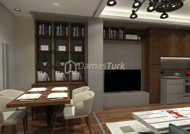 شقق للبيع في إسطنبول تركيا - المجمع DS183 || شركة داماس تورك العقارية 01