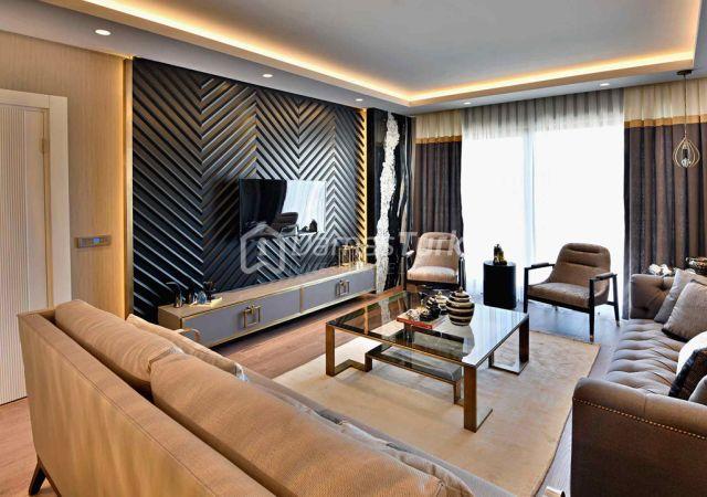 مجمع شقق جاهز للسكن بإطلالة بحرية بالتقسيط المريح  في اسطنبول الأوروبية منطقة بيوك شكمجة DS288     شركة داماس تورك العقارية 10