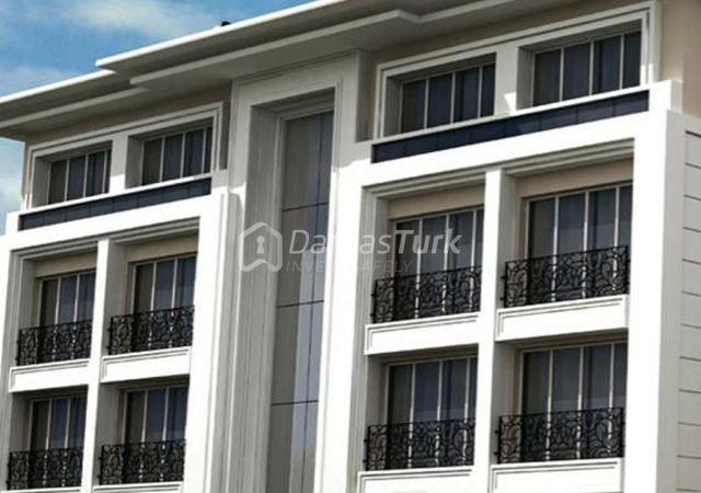 مجمع شقق جاهز للسكن مع إطلالة بحرية رائعة في اسطنبول الأوروبية منطقة بيوك شكمجة DS281  || داماس تورك العقارية 02