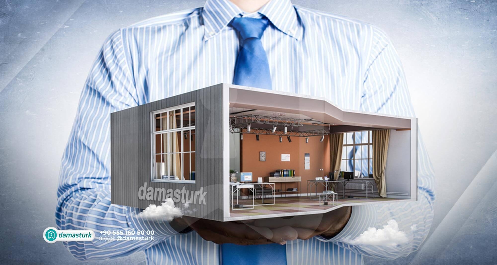 الاستثمار في المكاتب التجارية في إسطنبول 2021
